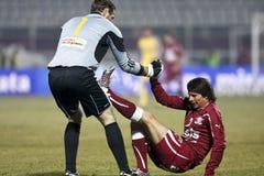 Rapid Bucharest Football Fans Stock Photography