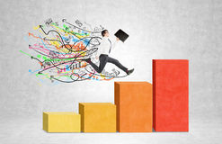 Rapid career growth Stock Images