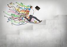 Rapid career growth Stock Photos