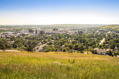 Rapid City in South Dakota, USA. Rapid City in South Dakota, United States of America Royalty Free Stock Image