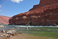 The rapid course of the Colorado River Royalty Free Stock Photos