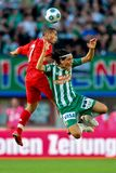 Rapid da SK contra Liverpool FC Foto de Stock