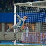 Rapid de la SK contre l'Autriche Wien images stock