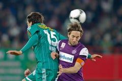Rapid de la SK contre l'Autriche Wien image stock