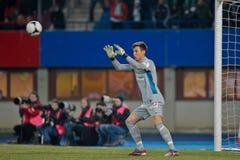 Rapid de la SK contre l'Autriche Wien photos stock