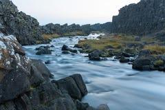 Rapid en Islande Photo libre de droits