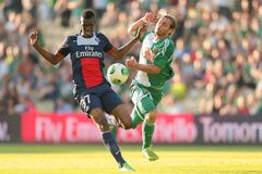 Rapid gegen Trondheim Paris St Germain Stockbilder
