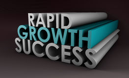 Rapid Growth Royalty Free Stock Photo