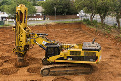 Rapid Impact Compaction Stock Photo