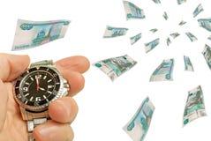 Rapid lending. Stock Photo