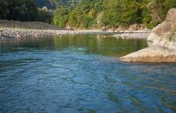 Rapid mountain river Stock Photos