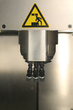 Rapid Prototyping system. For plastic 3D printing. Fused Deposition Modeling stock photo