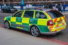 Rapid Response Ambulance Royalty Free Stock Image