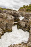 Rapid river - Iceland Stock Photography