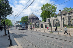 Rapid Tram in Istanbul, Turkey Royalty Free Stock Photos