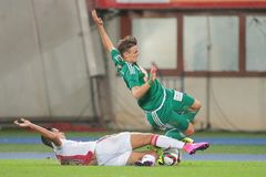 Rapid vs. Ajax Royalty Free Stock Images