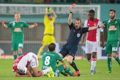 Rapid vs. Ajax Royalty Free Stock Photo