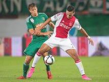 Rapid vs. Ajax Stock Photos