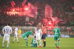 Rapid vs. Austria Salzburg Stock Photography