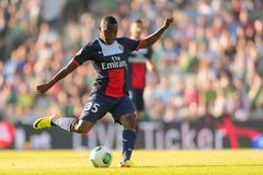 Rapid vs. Paris St. Germain Royalty Free Stock Images