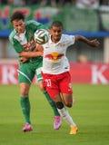 Rapid vs. Salzburg Stock Images