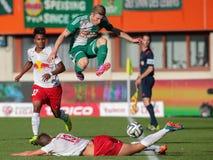 Rapid vs. Salzburg Stock Photo