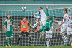 Rapid vs. Sturm Graz Royalty Free Stock Images