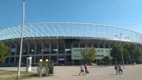 Stadium FC Rapid Wien ☺ stock image