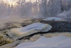 Rapida di inverno Fotografie Stock Libere da Diritti