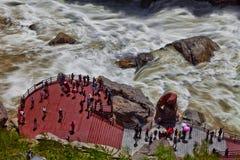 Rapide de canyon Photos libres de droits