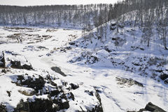 Rapide de rivière Photos libres de droits