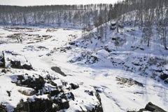 Rapide del fiume Fotografie Stock Libere da Diritti