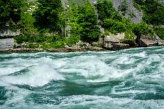 Rapide del fiume Niagara Fotografia Stock