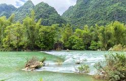 Rapide del fiume su patria Fotografia Stock Libera da Diritti