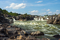 Rapide di Great Falls fotografia stock