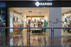 Rapido shop in amoy city, china Stock Images