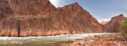 rapids гранита Стоковое Изображение