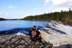 rapids мочат белизну Стоковые Фото