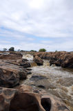 Rapids. In a river in Kenya Royalty Free Stock Photography