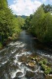 Rapids auf dem derwent Lizenzfreie Stockfotografie