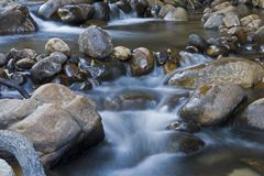 Rapids in the Cederberg Mountains Royalty Free Stock Images