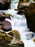 Rapids dans le teesta Images stock