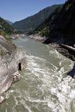 Rapids de fleuve Photographie stock