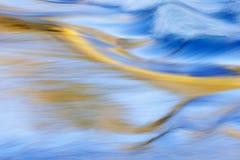 Rapids de fleuve d'île de Presque photos libres de droits