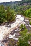 Rapids de fleuve de Tista Photos stock