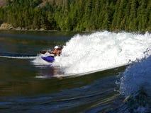 Rapids de Skookumchuck - BC Photographie stock libre de droits