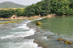 Rapids del río Imágenes de archivo libres de regalías