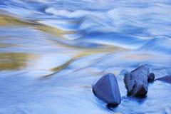Rapids del río de la isla de Presque Foto de archivo