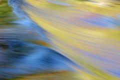 rapids di autunno Fotografie Stock Libere da Diritti