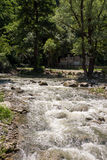 Rapids Dryanovska river in Bulgaria Royalty Free Stock Photos